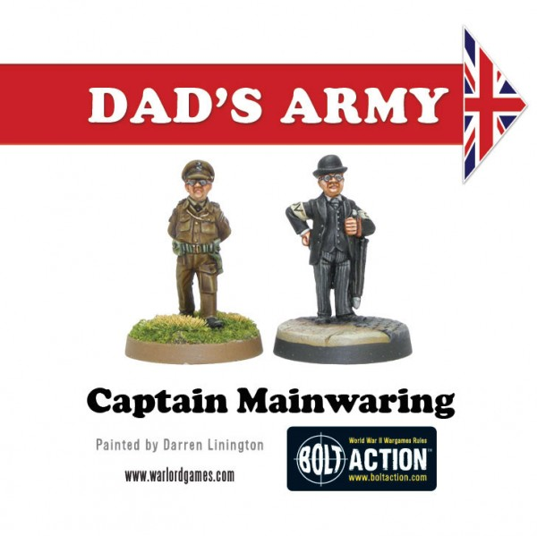 Preview: Dad's Army – Captain Mainwaring