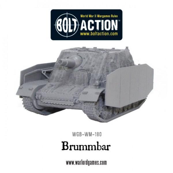 New: Brummbär heavy assault gun