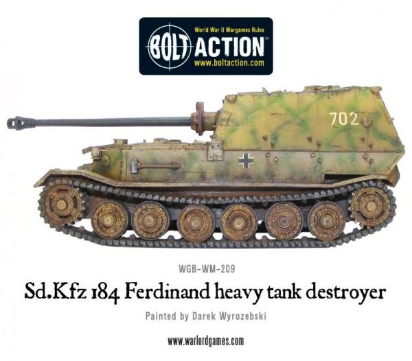 New: Sd.Kfz 184 Ferdinand heavy tank destroyer