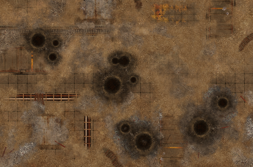 New 6x4 Battle Mat Fallout Zone Bols Gamewire