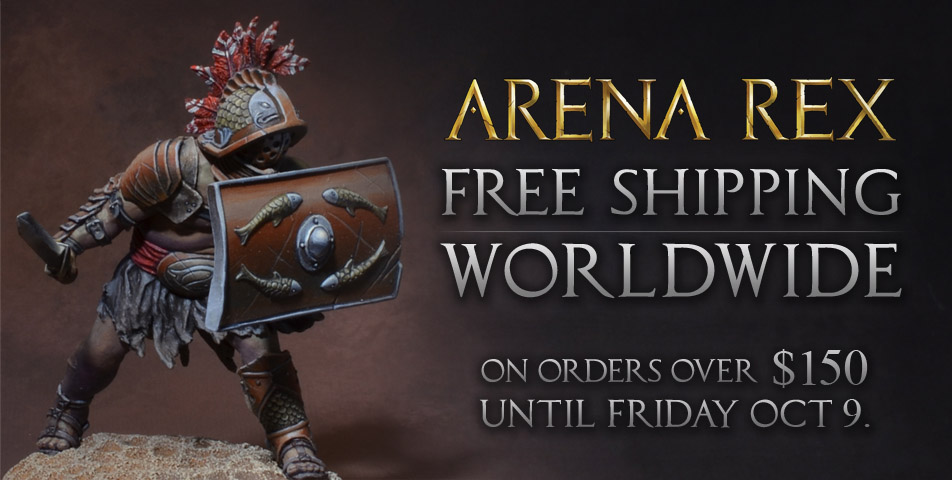Arena Rex: Free Shipping on Orders $150+