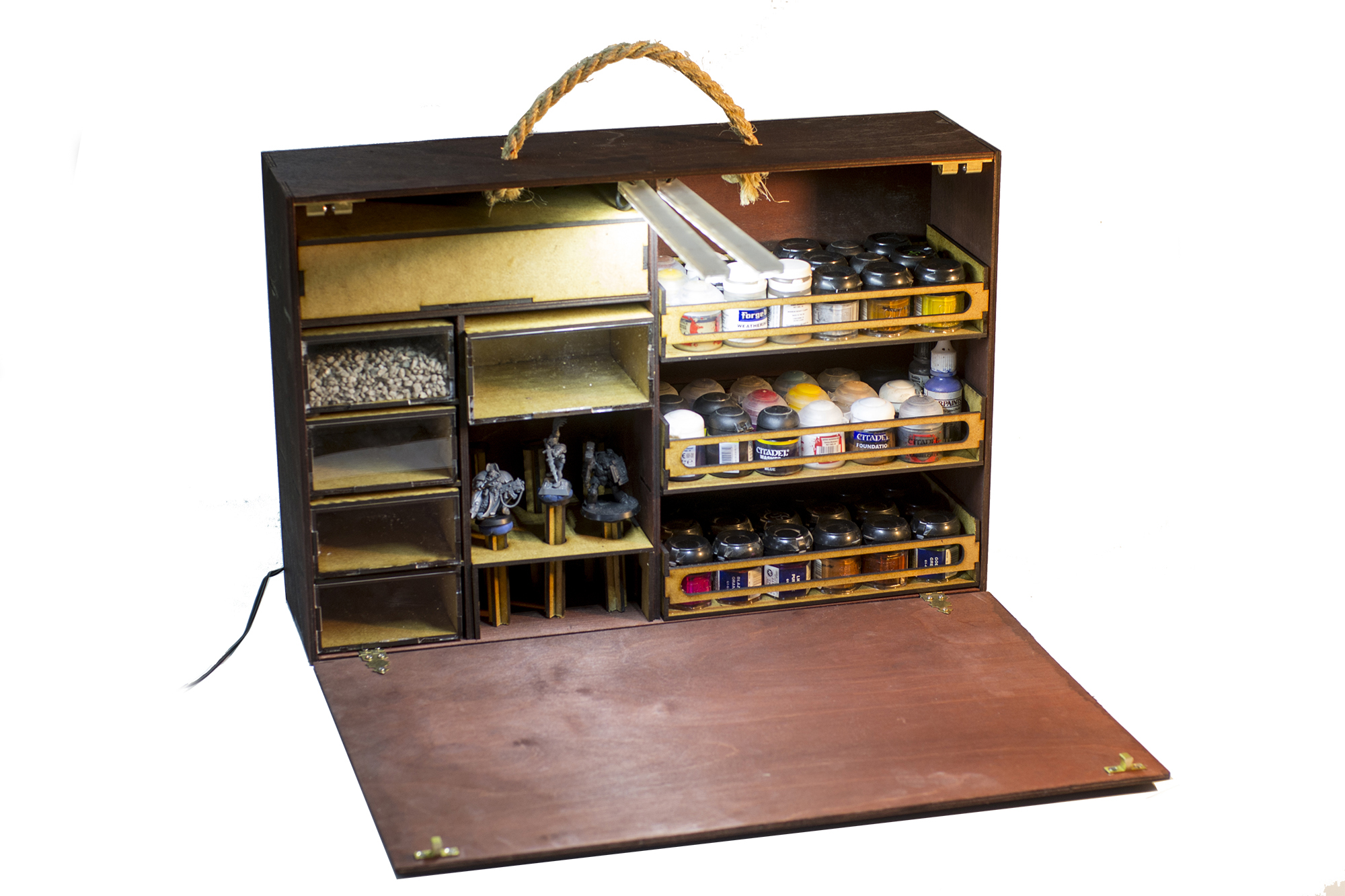Paint Case A Portable Painting Station Bols Gamewire