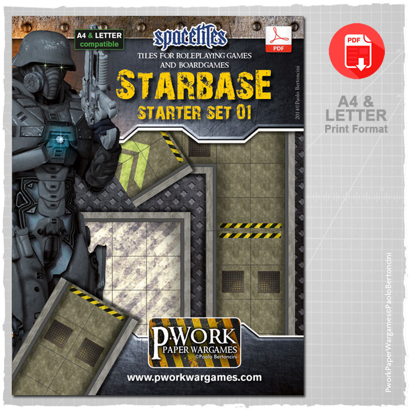 Starbase Starter and Expansion: Pwork Space Tiles Set