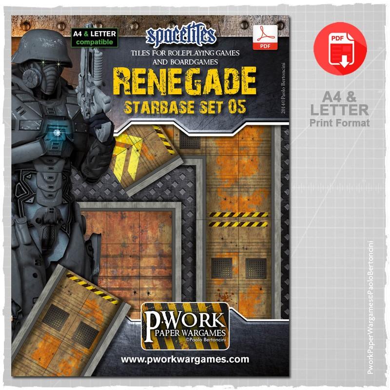 Renegade Set and Expansion: Pwork Space Tiles Set