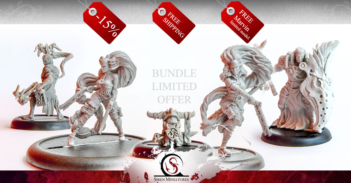 Siren Miniatures christmas 2016