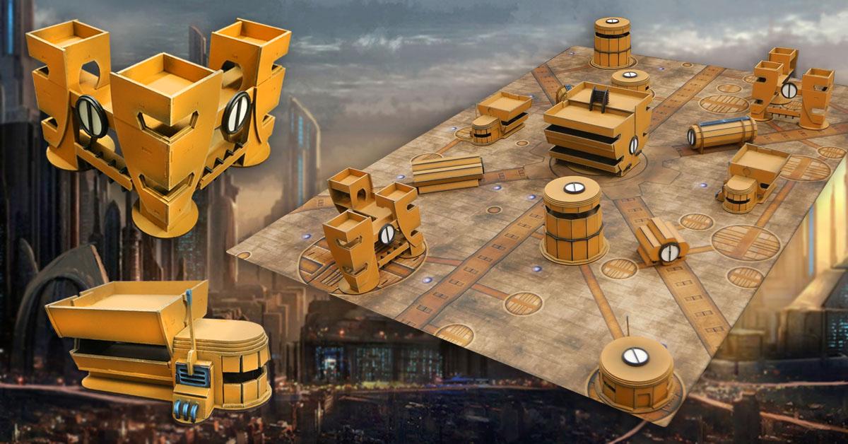 New ITC Terrain Series Set: Interstellar City