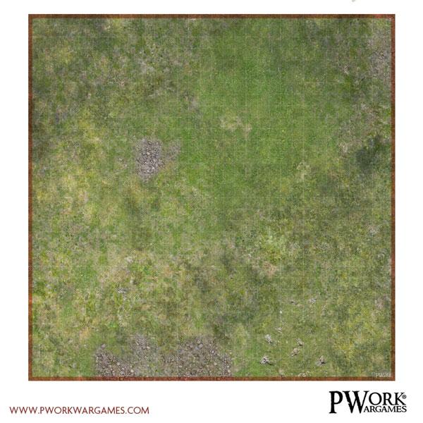 RPG Combat Map Forest: Pwork Wargames grid map