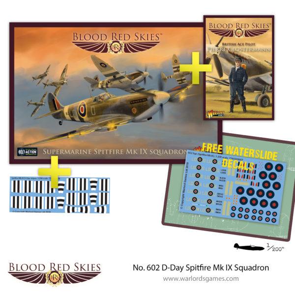 No. 602 D-Day Spitfire Mk IX Squadron