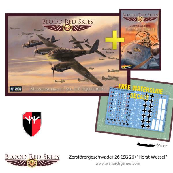 Zerstörergeschwader 26 (ZG 26) Horst Wessel Me410 Squadron