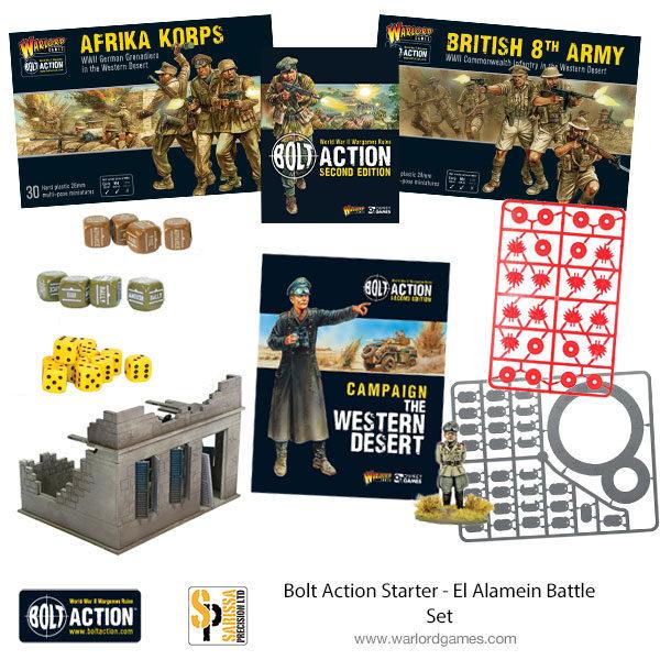 Bolt Action Starter - El Alamein Battle Set