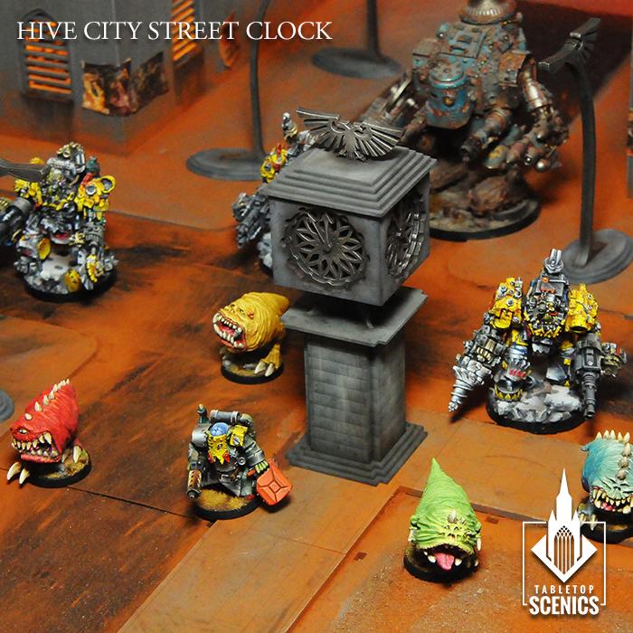 Tabletop Scenics Hive City terrain galore