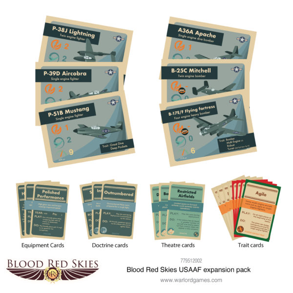 BRS USAAF expansion pack cards