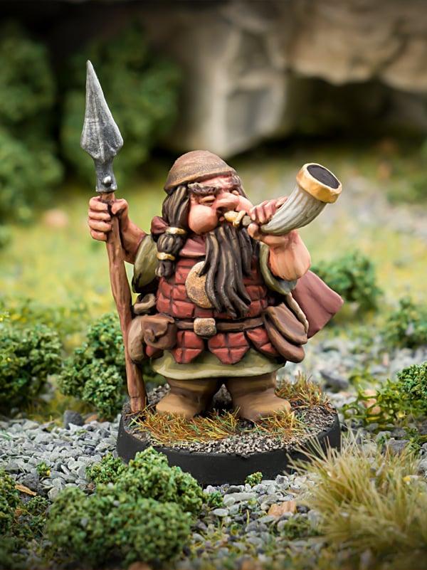 Hrothir Beardfolk Dwarf