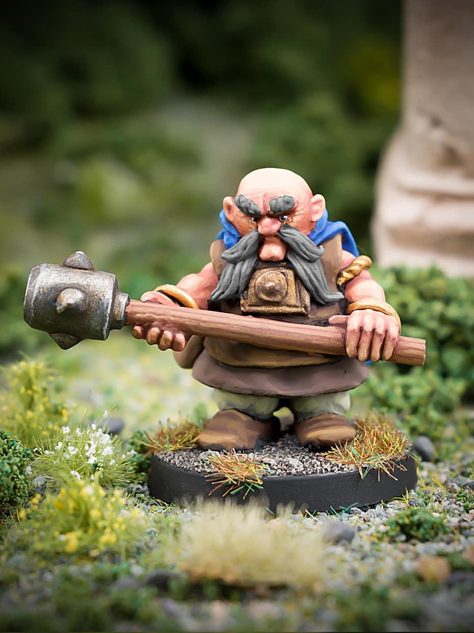 Malfolio Ironbraid Beardfolk Dwarf