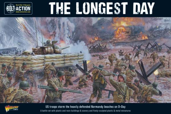 The Longest Day battle-set cover art