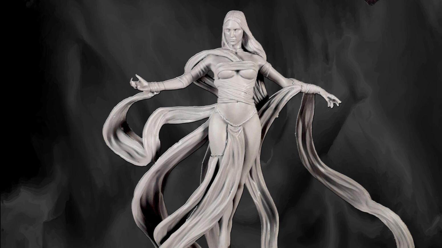 Cerberus Studios introduces new 'Goddess' Miniature