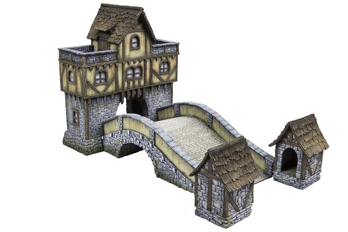 New 32mm terrain from Shieldwolf Miniatures