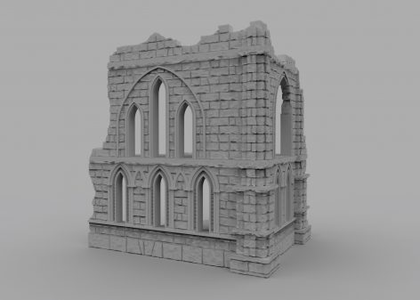 0 80 USD / 1 Terrain: 3D Printable Wargaming Terrain ON