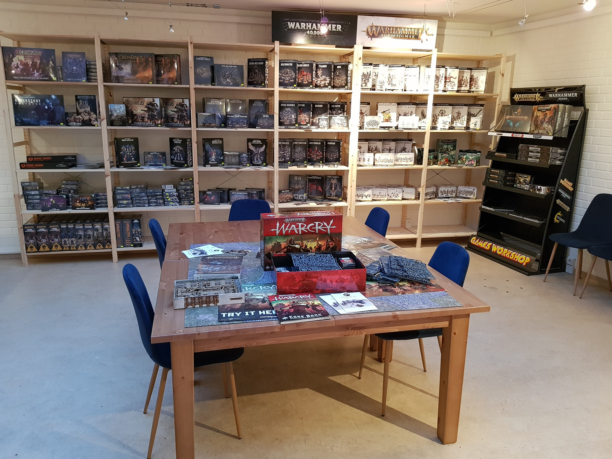 Brand new Board Game Store, opening NOW.