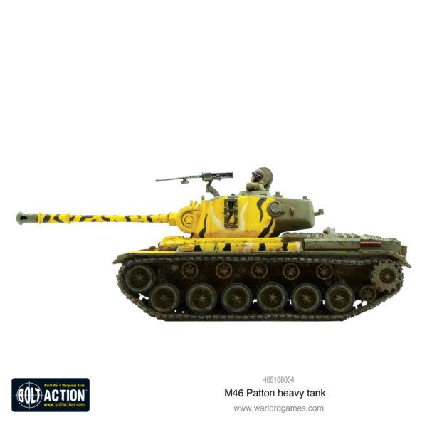 M46 Patton Side View
