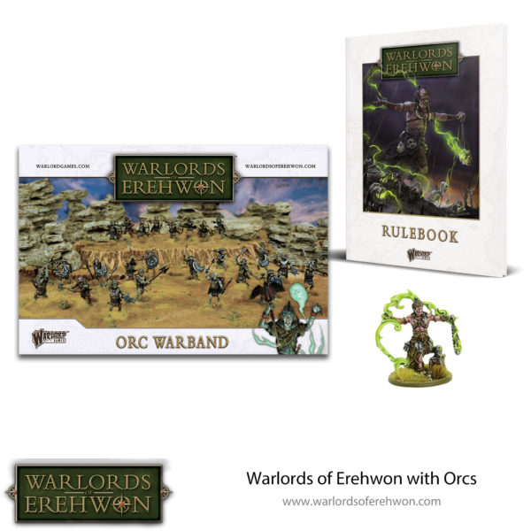 Rulebook with Orcs