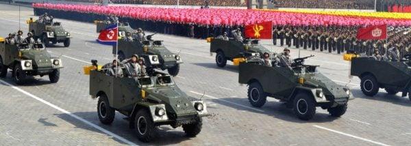 BTR40s on Parade