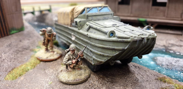 DUKW Amphibious Truck on the Table