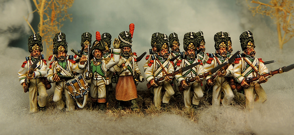 Francesco Thau Painted Old Guard