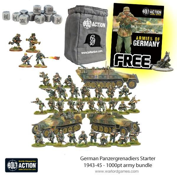 Late War Panzergrenadiers Starter Bundle