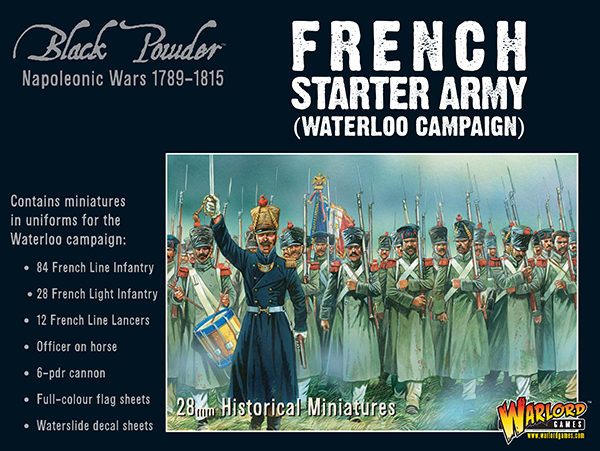 French Starter Army (Waterloo Campaign)