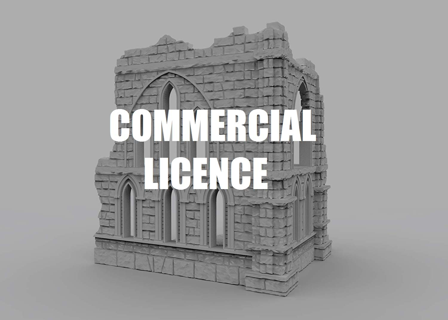 Commercial Licence to 3D printable wargaming scenery – STL files for wargaming terrain printing – 3D PRINT AND SELL !