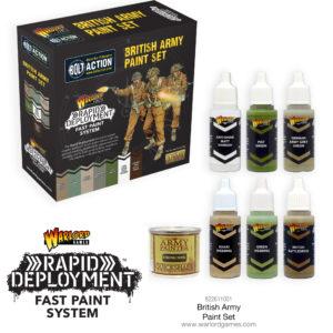 British Army Paint Set