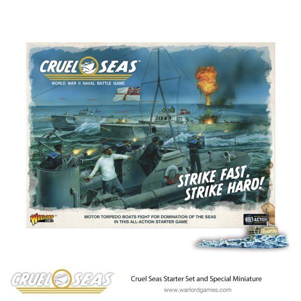 Begin your Cruel Seas MTB action with the Starter Set Strike Fast, Strike Hard!