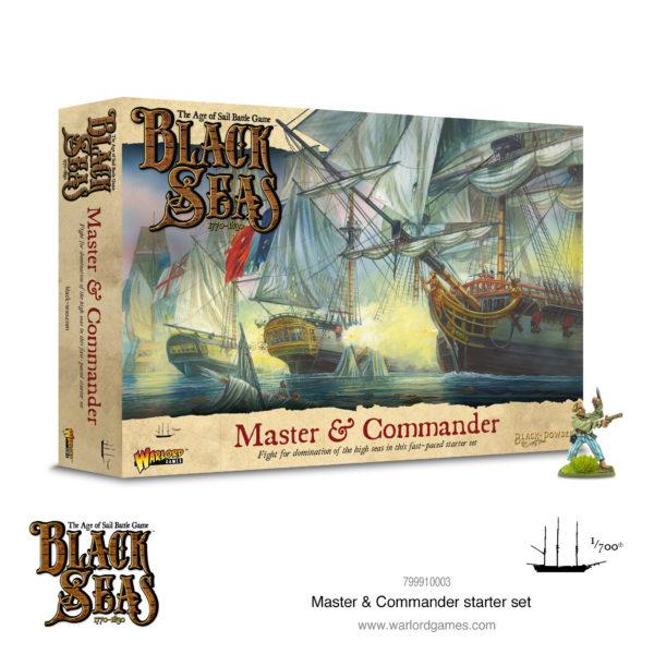 Black Seas Master and Commander Starter Set