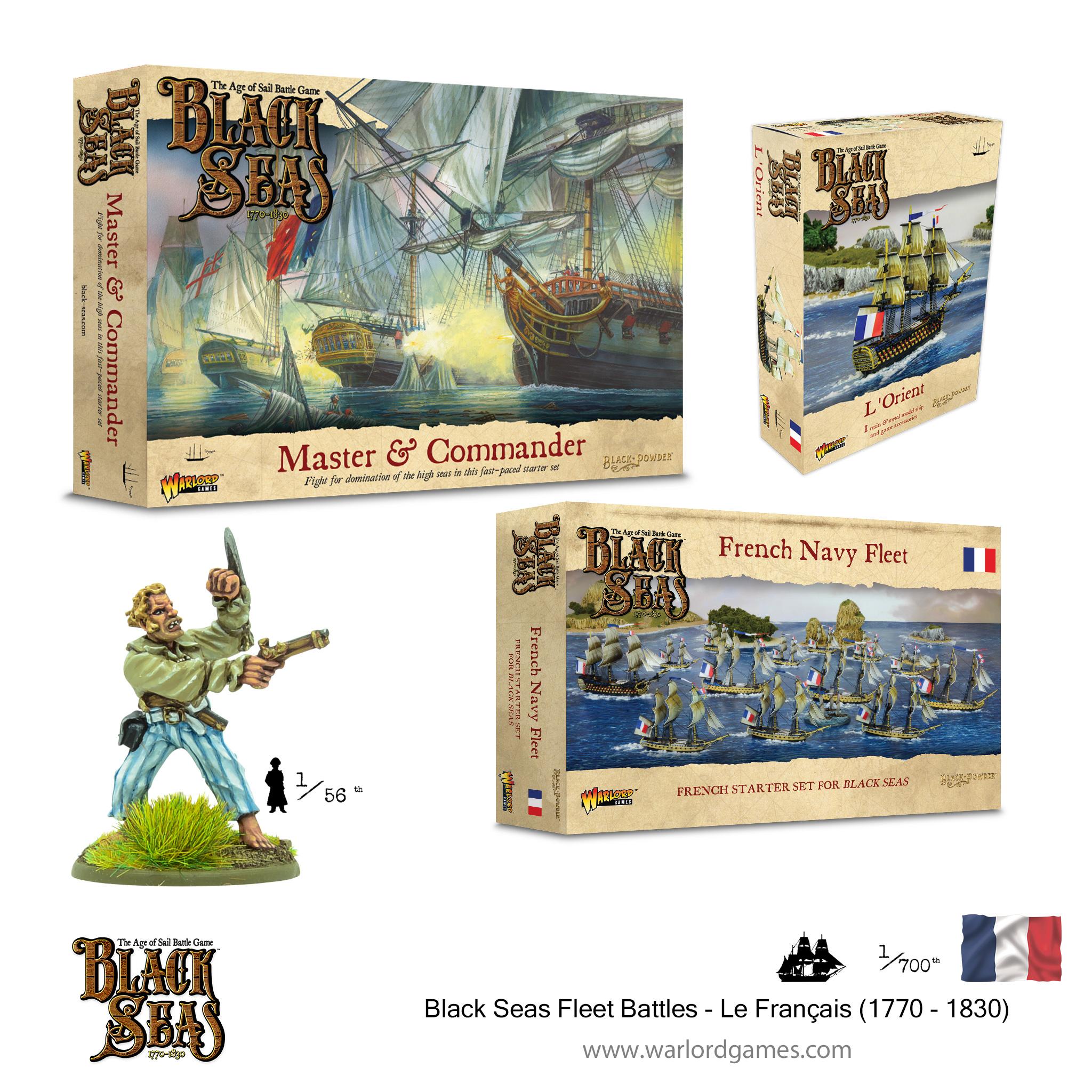 Black Seas Fleet Battles - Le Français (1770 - 1830)