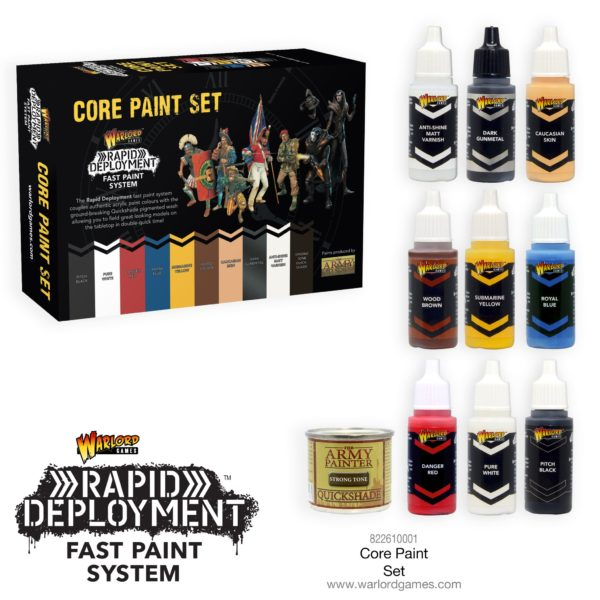 Warriors of Gaul Bundle Paint Set