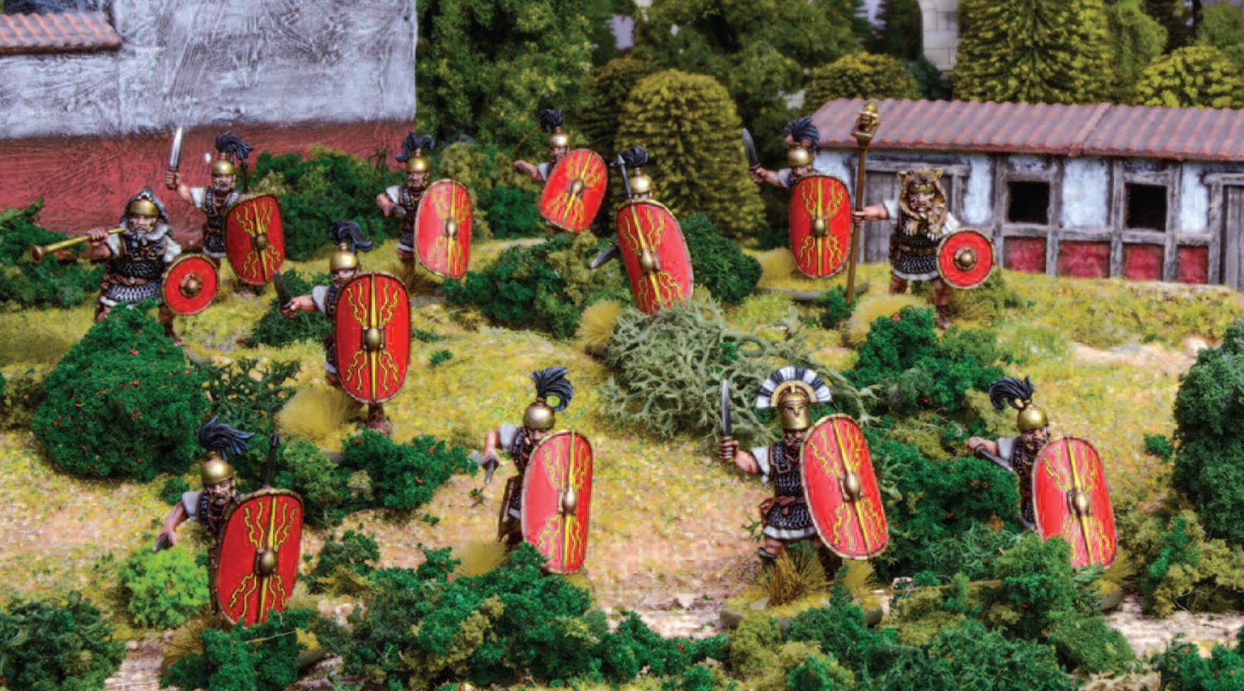 Caesar's Legions legionaries