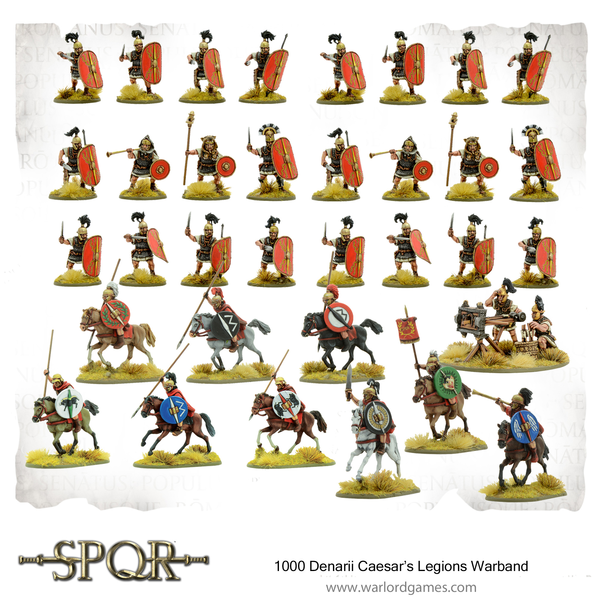1000 Denarii Caesar's Legion Warband