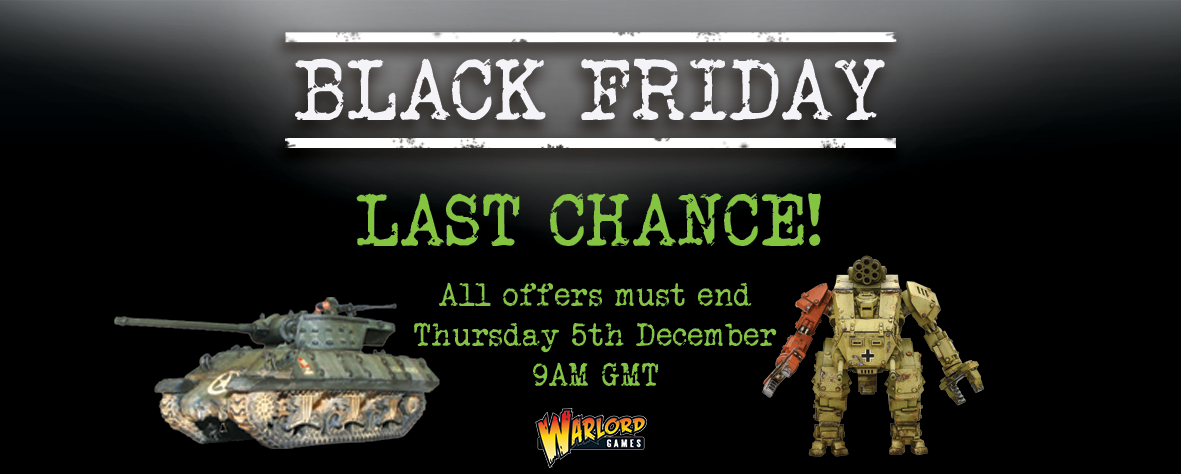 Warlord Games Black Friday Offers 2019