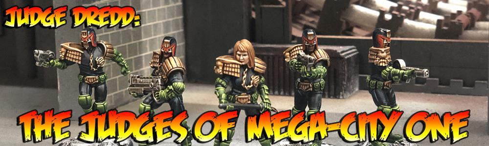 Judge Dredd: The Judges of Mega-City One