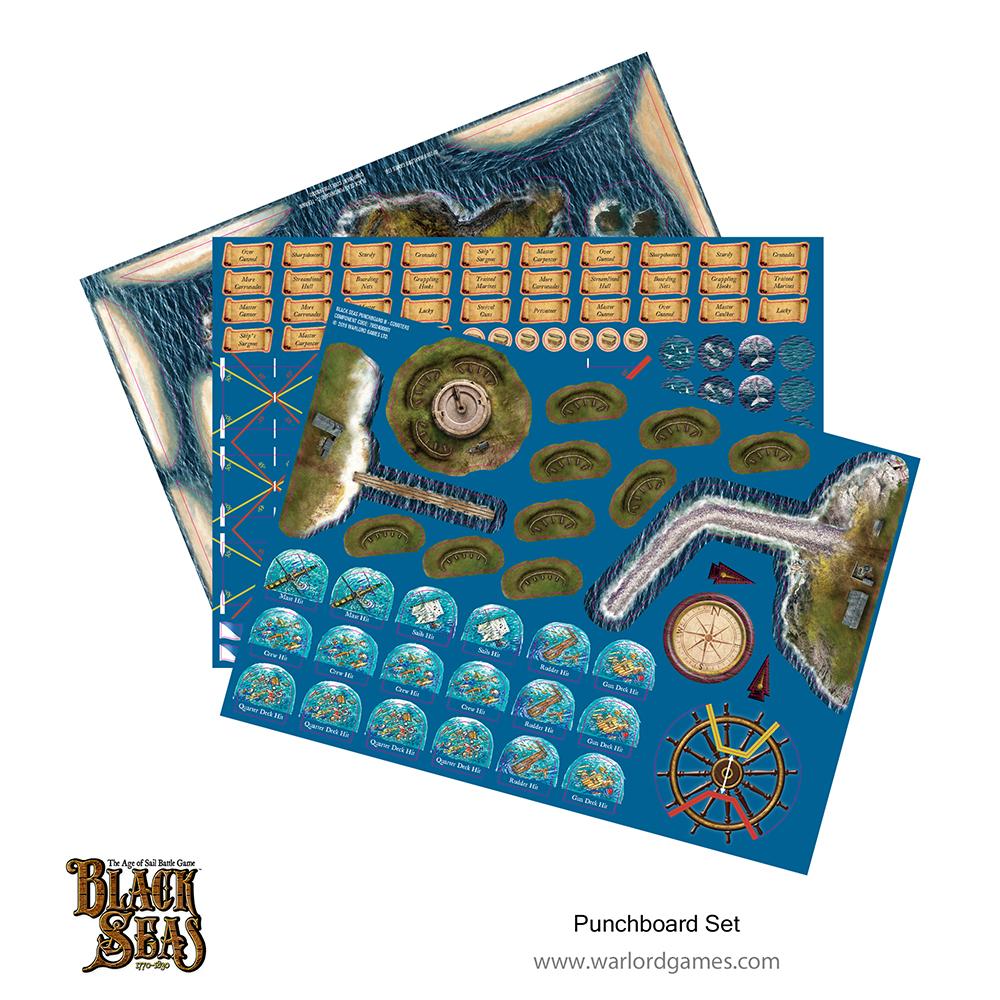 Black Seas: Punchboard Set