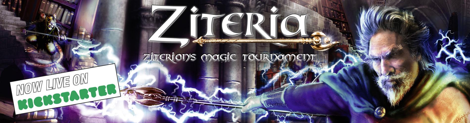 ZITERAI - Ziterion's Magic Tournament Dungeon Crawler live on Kickstarter