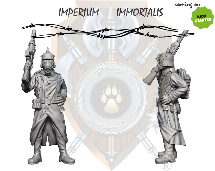 IMPERIUM IMMORTALIS new teasers