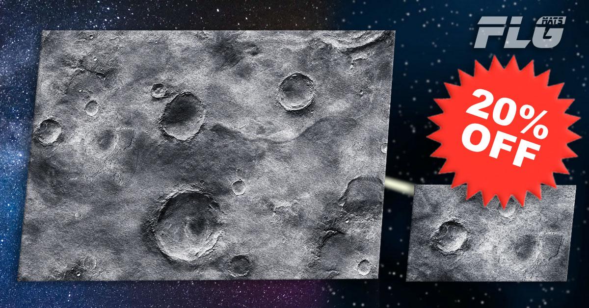 New FLG Mat: Moon: 20% Off!