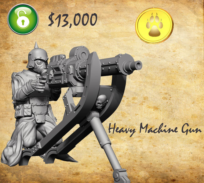 Heavy Machine Gun unlocked, the Imperium Immortalis marches on!