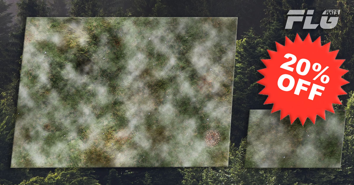 New FLG Mat: Misty Meadow