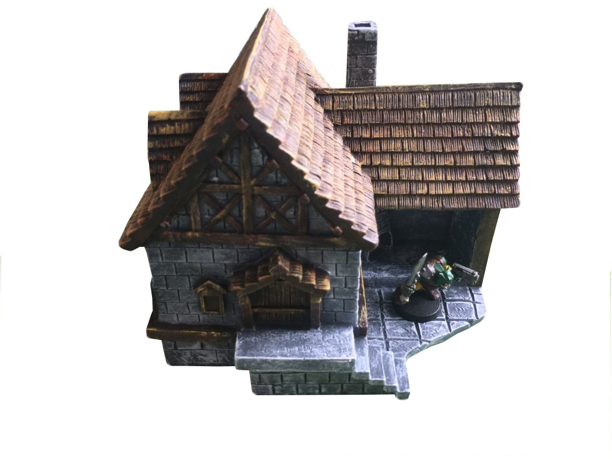 Medieval pre-painted fantasy village set is here ! Big sets and small sets available now