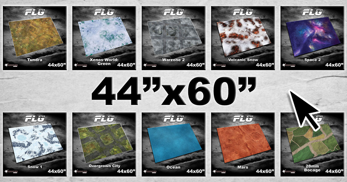 44×60″ FLG Mats Now Available!
