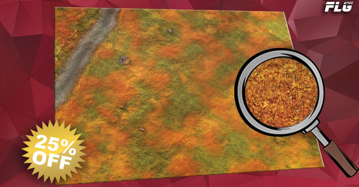 New FLG Mat: Autumn Field