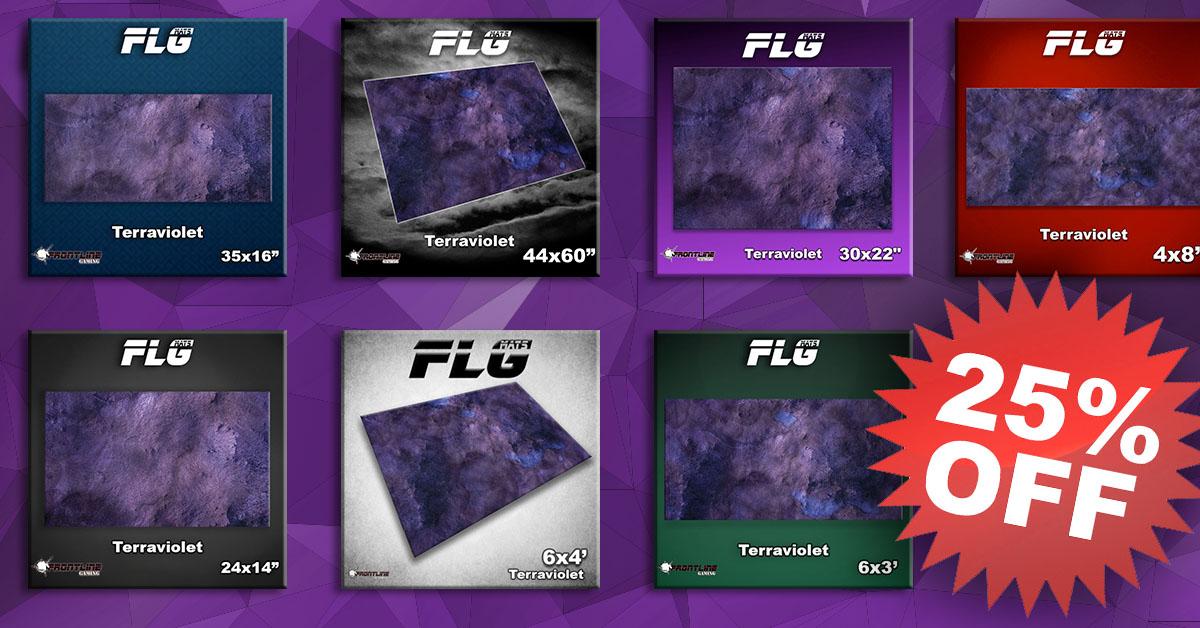 New FLG Mat: Terraviolet!